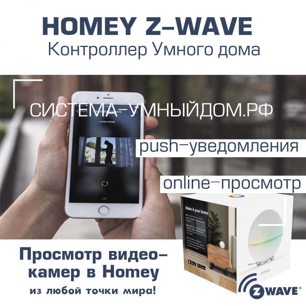 Приложение Homey Cameras